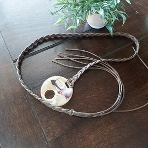 Accessories - Boho~Hipster~ faux~leather~ belt